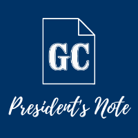President's Note