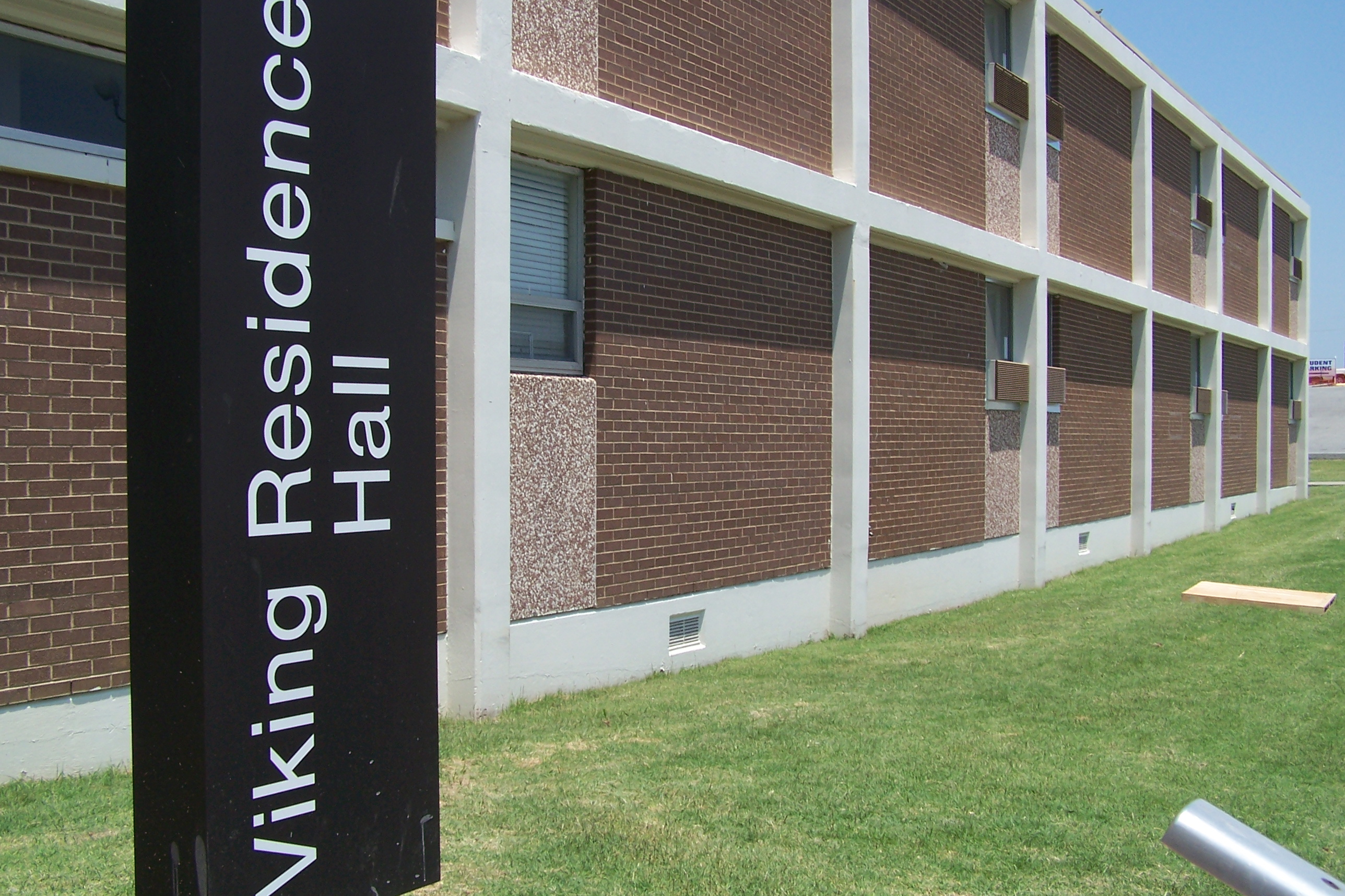 Viking Hall is centrally located to make on-campus living convenient.