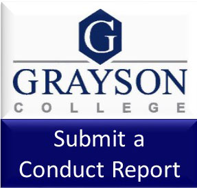 Click here to access the Conduct Reporting form